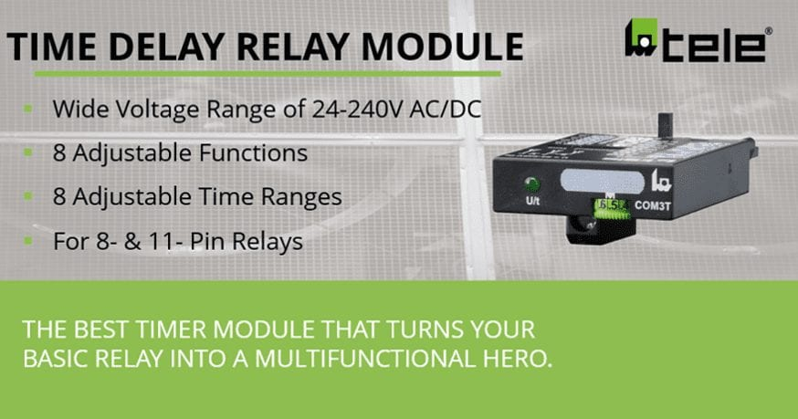 Take your 8- & 11- Pin Relay to the next level.